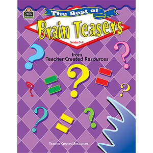 TCR2465 The Best of Brain Teasers Image