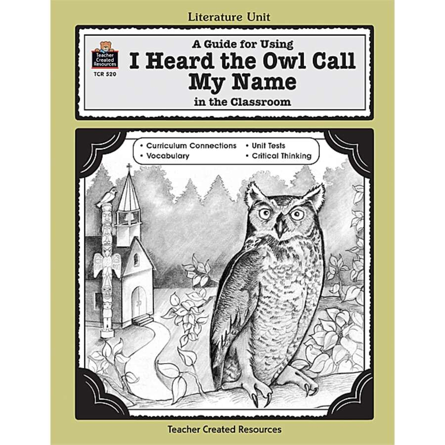 the story of terminally ill mark in margaret cravers novel i heard the owl call my name Margaret cravers novel, i heard the owl call my name, is the story of a terminally ill young  mark learned how to give unselfishly without expecting anything.