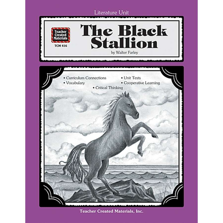 TCR0416 A Guide for Using The Black Stallion in the Classroom Image